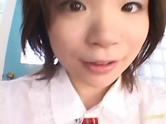 horny Teen Mayu Yamaguchi Takes Off Her