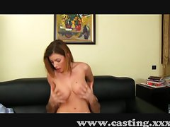 Alluring amateur strokes and screws in casting