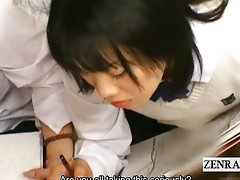Subtitles CFNM Japan students art class