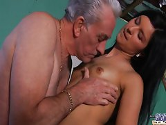 Sex break with older teacher - Katie Oliver