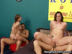 A sorority orgy with Tori Black