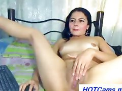 I Chat Free Spanish Babe Big Rubber toy in Cunt