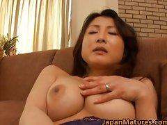Sensual sensual japanese aged slutty chicks stroking