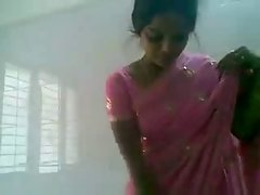Luscious Seductive indian dressing then gets banged