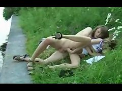 tempting rus seductive teen outdoor sex