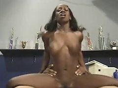Slutty ebony Girlie Shagging Brutal In Trophy Room