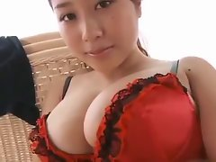Stunning Asian Female with Enormous melons