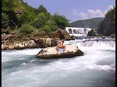 Sex near the Waterfall