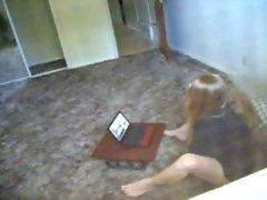 Lady Holly Gets Busted Watching Porn & Being Randy
