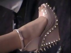 Luscious nylon feet 2