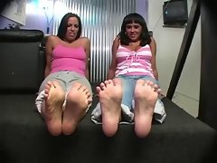 lexi lapetina-Jerk Off Foot Tease by 2 Dolls