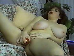Mega boobs Jordan Strips, Dances, Toys And Screws