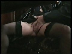 in the pub bar squirting