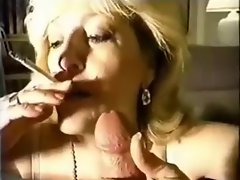 Kitty Fox Smokes and Screws 19yo Fellow
