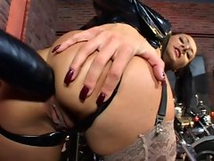 Butthole Caressing - Latex Glove