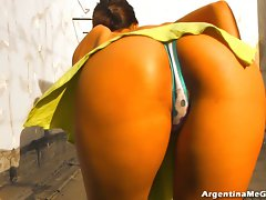 Wow! Most Blameless Round Latin Ass! Cool Body! Irreproachable 10!