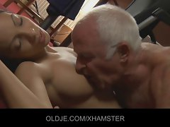 18 years old maid experiences Aged macho fucker owner