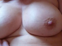 Nipple play, caressing and banging