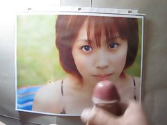 Ai Takahashi Cum Tribute Morning Musume Bukkake 3