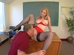 Cougar teacher bangs student