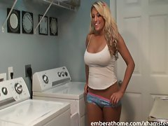 Obscene Laundry Young woman