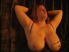 Big Tit Fatty Tied Up and Taught a Lesson
