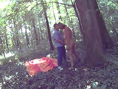 First fuck in the woods
