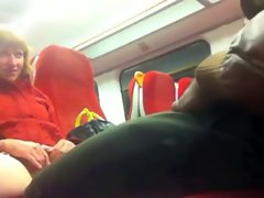 Black Prick on the Train to Putney - Cunt