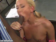 EvilAngel Sean Michaels Butt Bangs a Big Boobed Blondie