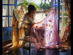 Sensuous Erotic Art of Vicente Romero Redondo