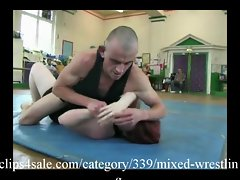 Excellent Mixed Wrestling Activity at clips4sale.com
