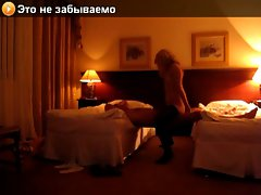 Amateur Hotel Sex. Ukrainian Actress With Aged Slutty russian Daddy.