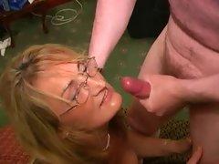 English Hussy Slutty mom Loves Cum Facials (Crystal 2)