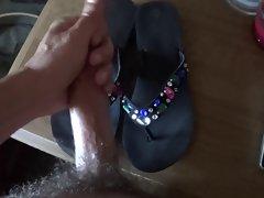 wifes flip flops