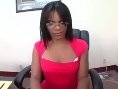Kandy Kane - Round Bum Black Teacher