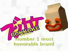 Bukkake milk