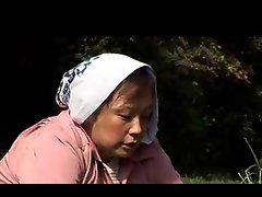 Sensual japanese Granny Farmer