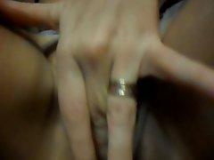 mum fingering her twat