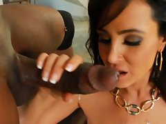 Mommy Lisa anally destroyed by black dick III