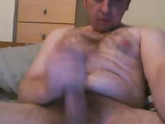 Luscious Hirsute DAD - BIG UNCUT Penis