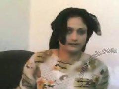 Arab hijab maid