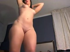 Sexual PAWG Thick Butt & Muff Spread Closeup - Ameman