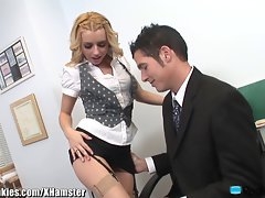 Lexi Belle is a Stiff Whorish Secretary