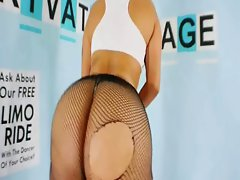 Latin Naughty bum Fishnets