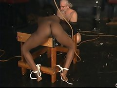 Crystal's Bondage Cock sucking & Banging