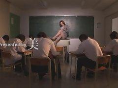 attractive asian teacher