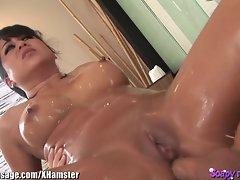 Asian Massage Young woman Butt Banged