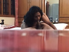 Andhra dirty wife rani fellatio shaft