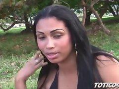 Dominican beach dick sucking - Toticos.com natural dominican porn