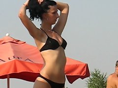 Bikini Models At The Pool
